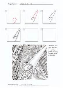 Zentangle Pattern - I'm gonna have to try this one