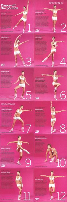 Ballet inspired work out, you can dream and work out all at the same time!