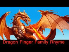Dragon fire 3d Finger Family Nursery english rhymes |  Children Animated... Finger Family Rhymes, English Rhymes, Fire Dragon, Nursery, Animation, 3d, Children, Funny, Movie Posters