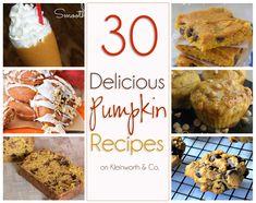 30 Delicious Pumpkin Recipes on kleinworthco.com