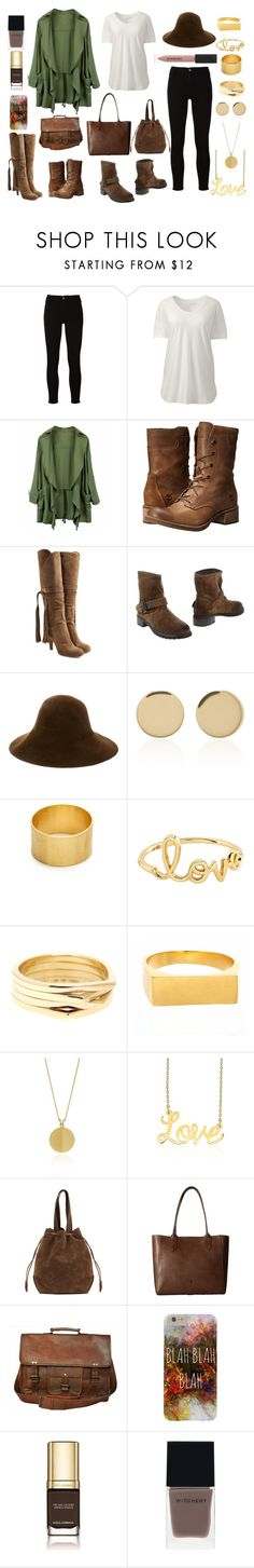 """""""Autumn Leaves"""" by melaniesstyle ❤ liked on Polyvore featuring Frame, Lands' End, Timberland, Chloé, Carmens, Patricia Underwood, Magdalena Frackowiak, Maya Magal, Sydney Evan and Repossi"""