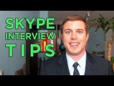How to Look Good in Skype Interviews - Tips & Training - YouTube