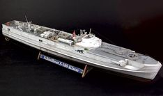 Schnellboot S-100-Klasse by Chris Wauchop (Revell 1/72) E Boat, Small World, Scale Models, The 100, Ships, Boats, Scale Model
