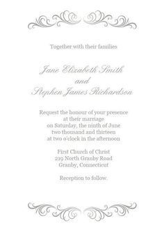 72 beautiful wedding invite printables to download for free - Wedding Invitation Templates Word