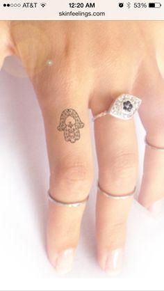 Subtle Tattoos, Sun Tattoos, Simplistic Tattoos, Dainty Tattoos, Finger Tattoos, Body Art Tattoos, Tatoos, Small Hamsa Tattoo, Hamsa Tattoo Design