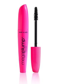 Wet n Wild - Mega Plump Mascara  This is much better than the one in the yellow tube. An excellent vegan drugstore mascara if you're on a budget or in a pinch! - Angela @ Vegangela.com  (All their mascaras except C148 Mega Impact Mascara and waterproof formulas are vegan)
