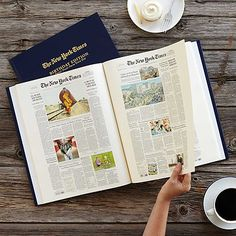 Look what I found at UncommonGoods: New York Times Custom Birthday Book for $10005 #uncommongoods