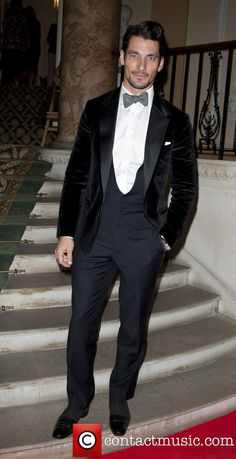 David Gandy at Scottish Fashion Awards, Scotland House, Dover House, Whitehall, London - october 9, 2013