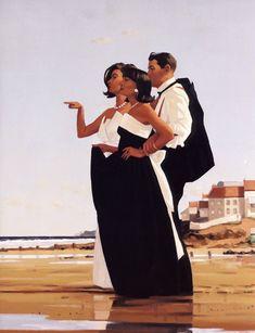 jack vettriano paintings | Love Story | Jack Vettriano, 1951 | Tutt'Art@ | Pittura * Scultura ...