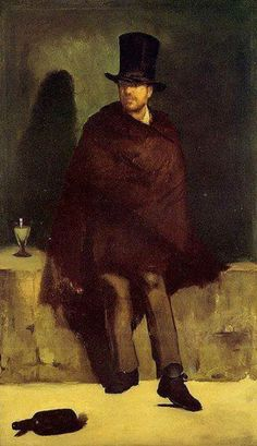 The Absinthe drinker by Edouard Manet.