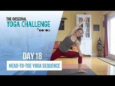 Original Yoga Challenge: Day 18 - Head to Toe Yoga Sequence | Bad Yogi - YouTube | Bloglovin'