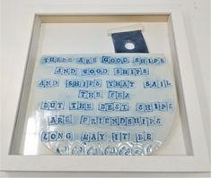 www.shopinireland.ie/store/skellig-pottery/ This friendship rhyme comes framed in a good quality box frame 30 x 30 cm. Currently made to order. #friendship #gift #birthdaygift #bestfriends #coast #coastalliving #ocean #sea Coastal Living, Coastal Decor, Friendship Poems, Box Frames, Bestfriends, Gifts For Friends, Ireland, Birthday Gifts, Pottery