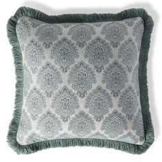 Kashmir Jewel Celadon Outdoor Pillow