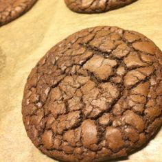 Kladdkake cookies