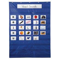 Essential Pocket Chart, Blue, CD-158158