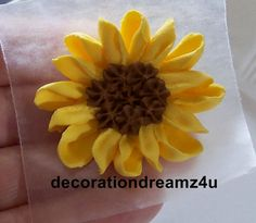 10 Approx. 1 3/4 inch Sugar Royal Icing by decorationdreamz4u
