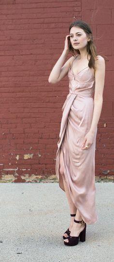 Zimmermann - Ochre Sueded Bralette Dress | Style | Pinterest ...