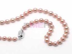 Pearls Jewelry Set : single pearl necklace, pendant, bracelet, pearl earrings…