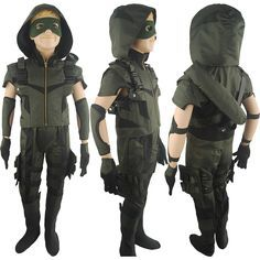 Arrow Season 4 Oliver Queen cosplay costume deluxe halloween costume superhero costume xmas gift for kids children boys anime comic-con costumes