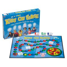 UNIVERSITY GAMES Kids on Stage Board Game