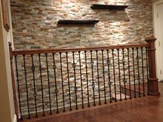 So elegant and unique. Easy to do with our residential urestone lite faux stone panels. So much more realistic than other faux stone. Order a sample. Faux Rock Walls, Faux Stone Walls, Faux Brick Panels, Brick Accent Walls, Brick Paneling, Stone Panels, Interior Design Books, Bathroom Interior Design, Interior Decorating