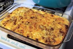 breakfast casserole with hash browns