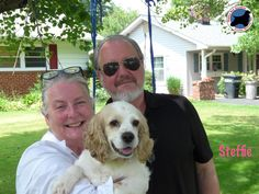 June 2015 #Smiles all around! Our adorable Steffie joined her new family last weekend! You may remember Steffie and her three precious pups came to OBG last month. Now everyone has their own forever family. Congrats and we wish Steffie and her new parents many happy years together! #cockerspanielrescue #adopted