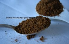 KANNADA CUISINE: Bananti Pudi, Postpartum chutney powder