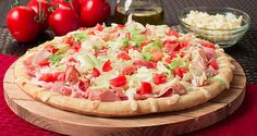 Forget the sandwich bread. Throw it on a Mama Mary's Pizza Crust! Enjoy this Club Pizza recipe.