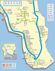 Taiwan 鵝鑾鼻 map 街道地圖