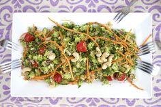 Obiadowa Sałatka z Surowego Brokuła i Komosy Ryżowej – Tony Dobroci