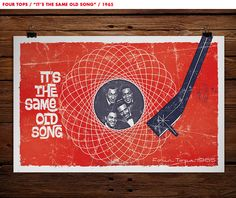 An Invitation Across the Nation | Four Tops #motown #poster #design