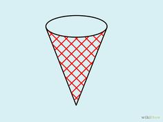 ice cream cone simple draw wikihow