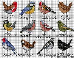 Thrilling Designing Your Own Cross Stitch Embroidery Patterns Ideas. Exhilarating Designing Your Own Cross Stitch Embroidery Patterns Ideas. Mini Cross Stitch, Cross Stitch Samplers, Cross Stitch Animals, Cross Stitching, Cross Stitch Embroidery, Embroidery Patterns, Bird Patterns, Cross Stitch Kitchen, Pattern Ideas