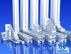 Industrial aluminium profile and angle aluminium profile from Hiwant industry.