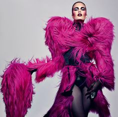 Photo by Craig McDean, coat by Dolce & Gabbana for Interview