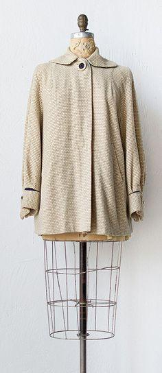 vintage 1940s jacket   40s coat