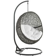 Modway Furniture Hide Outdoor Patio Swing Chair With Stand   EEI 2273