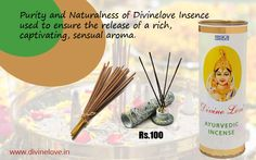 Use Divine Love Ayurvedic Incense in your daily life, for celebrations and gatherings to create a natural atmosphere of togetherness, to purify your surroundings and uplift your inner being with a feeling of devotion to enjoy life and its beauty.