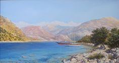artist Lysak Gennady, Silent Harbour  Fethe