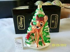 Christopher Radko RARE Disney Bambi Ornament | eBay