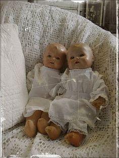 Bij Geartsje : poppen uit grootmoederstijd....