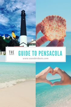 The perfect guide to Pensacola, Florida! Things to do, places to eat, and where to stay. - Wander Dust Blog