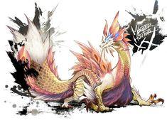 Mythical Creatures Art, Prehistoric Creatures, Magical Creatures, Fantasy Creatures, Cry Anime, Anime Art, Monster Hunter World Wallpaper, Monster Hunter Memes, Dragons