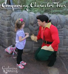 Conquering Disney Character Fear