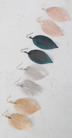 Silver Icing New Leaf Earrings #silvericing #accessories #accessorize #earrings #leafearrings #ootd #gethelook #fallfashion #fallfashion2017 #goldleafearrings #autumn #fashion #shopping #completethelook #rosegoldearrings #silverearrings #blackearrings #silverleaf #goldleaf #rosegoldleaf #buyallcolors