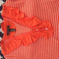 Ralp Lauren Long Sleeved shirt Great for the spring Ralph Lauren Tops Blouses
