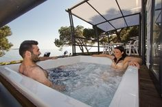 Boutique Camp Materada Beach in Porec in Istria