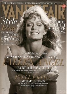 Vanity Fair Sep 2009 Farah Fawcett cover No 589