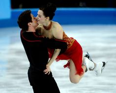 Canada's Tessa Virtue and Scott Moir during the Team Free Ice Dance at the Iceberg Skating Palace in Sochi, Russia, on Sunday, Feb. 9, 2014. (Nhat V. Meyer/Bay Area News Group)